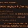 Cursuri, meditatii Limba Engleza si Franceza