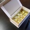 Cutie rezistenta din carton dur pentru bomboane, praline