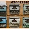 Depanare si consumabile ptr. masini de scris.