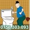 Desfundarea WC-ului