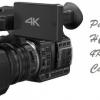 FullHD sau 4K ? Videocamere Panasonic AG-AC90A ; Panasonic HC-X1000.