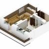 Garsoniera 31 mp + terasa, decomandata, Sanpetru