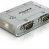 HUB extern USB 2.0 la 4 porturi serial – 87414