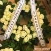 Imprimanta scriere panglici funerare lente sau florale.