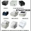 Imprimante bonuri si etichete termice cu interfata de retea serial si paralel