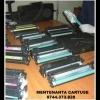 Incarcare & livrare cartuse imprimante, multifunctionale, copiatoare si faxuri.