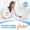 Incepe vara cu un laptop GRATUIT!