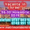 Israel 05-09 Noiembre 2019 O vacanta de vis