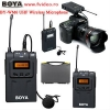 Lavalier Wireless Microphone System For BOYA BY-WM6 - Famivideo