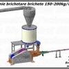 Linie brichetat brichete 150-200 kg/ora din paie