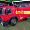 Masinuta electrica de pompieri cu  Acceorii Pompier  Nou