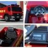 Masinuta electrica Pompieri Fire Truck Hollicy 90W