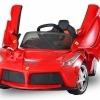 Masinute electrice noi Ferrari pentru copii motorase acumulatori 12v