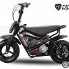 . Motocicleta electrica pentru copii 250W 24V Eco Flee cu roti ajutatore