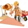 Muncitori calificati si tineri necalificati constructii Italia