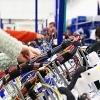 Muncitori necalificati in fabrica din Germania