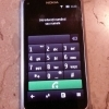 Nokia E7 smartphone slider multitouch