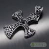 Pandantiv Amuleta Cruce Celtica Crucifix Cruciulita INOX PND005