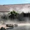 Perdele de vapori de apa pulverizata pentru racire exterioara