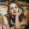 Picturi cu praf de stele, glitter painting