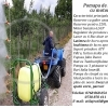 Pompa de stropit tractata de ATV-Motocultor, Motor benzina