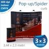 Pop-up Spider Curb 3 x 3 module (3,44 x 2,3 metri) - 1600 lei