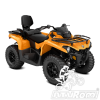REDUCERE Can-Am Outlander MAX DPS 450 T3 '18