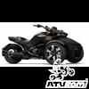 REDUCERE Can-Am Spyder F3-S SE6 Monolith Black Satin '18