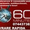 Reincarcare cartuse ptr.imprimante in 60 minute.