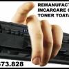 Reincarcare cartuse toner pt. imprimante, copiatoare,multifunctionale