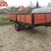 Remorca agricola transport , monoax , 4 t