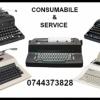 Reparam masini de scris mecanice si electrice si livram consumabile aferente.
