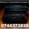 Reparatie  masina de scris+Riboane