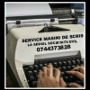 Reparatii masini de scris la preturi convenabile cu executie rapida.
