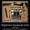 Reparatii masini de scris-rapid si convenabil