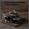 Reparatii si consumabile masini de scris mecanice si electrice.