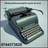 Restaurari & consumabile masini de scris, cu executie si livrare rapida.