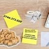 Riboane scriere Role etichete colete AWB courier transport.