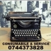 Ribon = consumabil  masina de scris