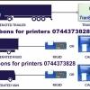 Ribon scriere si rola hartie imprimanta Transcan, Thermo King , Euroscan, Cargo-