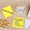 Rola etichete AWB  autocolante, etichetare paleti, eticheta logistica…