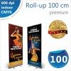 Roll-up 100x200 cm Premium - 180 lei
