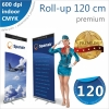 Roll-up 120x200 cm Premium - 220 lei