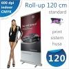 Roll-up 120x200 cm Standard - 200 lei