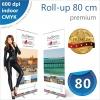 Roll-up 80x200 cm Premium - 140 lei