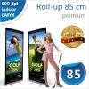 Roll-up 85x200 cm Premium - 145 lei
