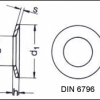 SAIBA CONICA TIP ARC  CONICAL SPRING WASHER FOR SCREWED CONNECTION