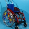 Scaun cu rotile activ copii din aluminiu Sopur / latime sezut 28 cm