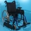 Scaun cu rotile cu toate rotile dotate cu cauciuc si camera-din otel