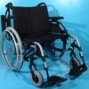 Scaun cu rotile din aluminiu cu latimea sezutului de 60 cm